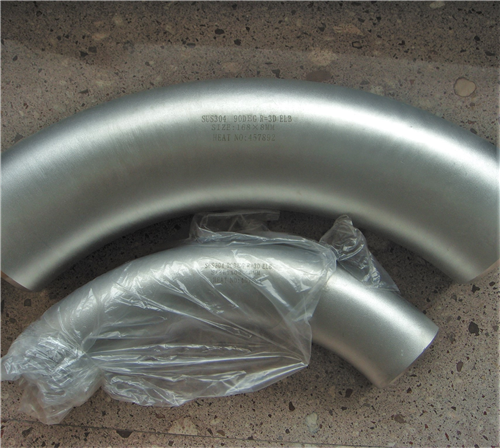 SUS304 3D Stainless Steel Elbow