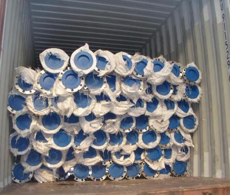 Stainless Steel Seamless Flange Pipe for Saudi Arabia