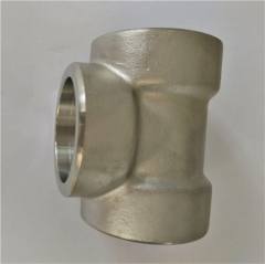 Stainless Steel Socket Welding Tee